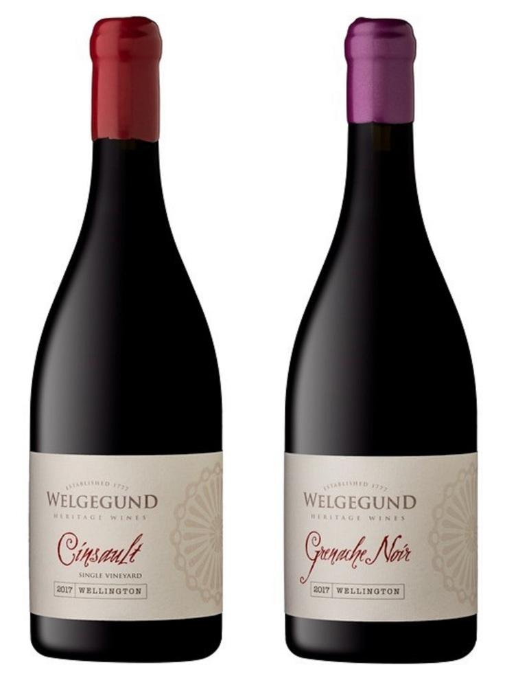 Welgegund Cinsault and Grenache Noir 2017-1